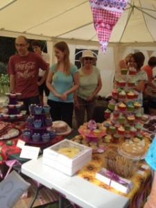 cake stall